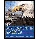 Government in America : People, Politics and Policy, Edwards, George C., III and Wattenberg, Martin P., 0321121759