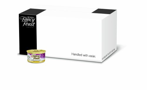 FFP Fancy Feast Gourmet Cat Food, Grilled Chicken Feast in Gravy, Grilled 3-Ounce Cans (Pack of 24), My Pet Supplies