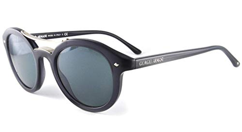Giorgio Armani 8007 5015R5 black crystal frames 8007 Round Sunglasses Lens Category 3