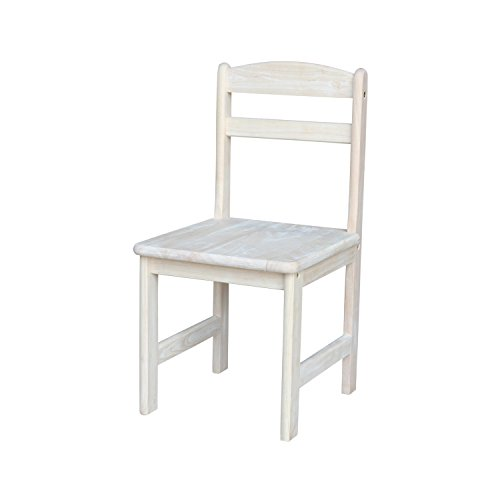 International Concepts Set (International Concepts Unfinished Juvenile Chair, Set of 2)