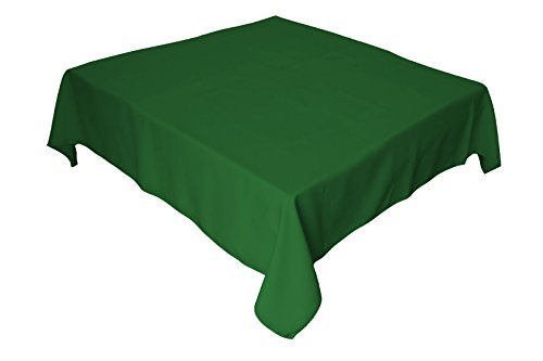 LinenTablecloth 54-Inch Square Polyester Tablecloth Valley - Square Valley