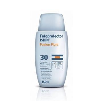 Amazon.com: Isdin Fusion Fluid SPF-30 Sunscreen 50ml X Mas Gift ...