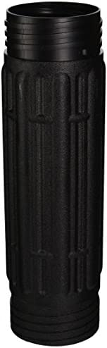 "CHARTPAK Expandable Tube System Large Middle Expansion 12"" x 3 1/2"", Black (CY0801)"