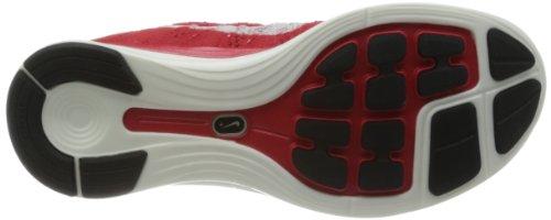 Nike Womens Flyknit Lunar1 +, Università Rosso / Vela