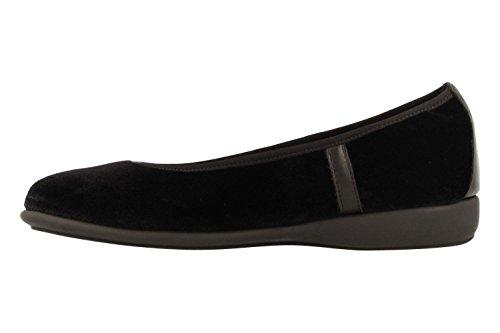 Flats Ballet Aerosoles Lots More Black Velvet UqU4C5dwr