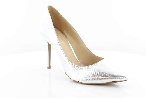 Michael Michael Kors Womens Claire Pump Leather, Metallic Embossed, Size 9.5 ()