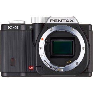 017896553459 - Pentax Open Box K-01 16 Megapixel Hybrid Digital Camera - Black - Body Only carousel main 0
