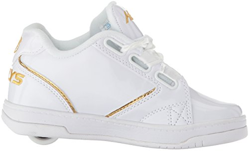 2 0 Heelys White Blanco Mujer White Satin Gold Gold Zapatillas para Propel Satin 5nnfHrWvg