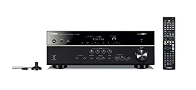 Yamaha HTR-4066BL 5.1-Channel 575-Watt Audio/Video Receiver, Black