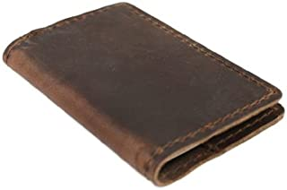 product image for Leather Composition Notebook Covers (Pocket, Dark Brown)