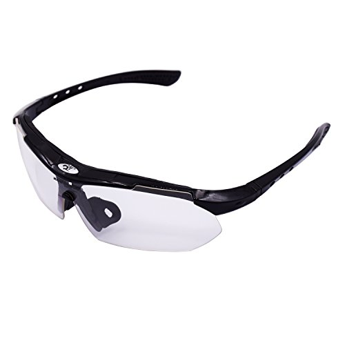 Polarized Sports Sunglasses,WITERY UV Protection Men Women Cycling Running Polarized Sports Goggles - Glasses Repair Prescription Scratch
