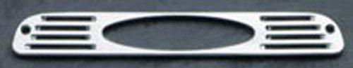 (All Sales 54006P Polished Billet Aluminum Third Brake Light Cover - USA Logo)