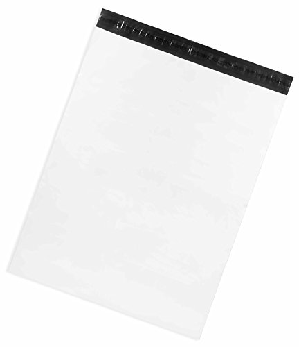 Poly Mailers X-Large 22x28 Inch - Pack of 20 – Premium Extra Thick White Large Shipping Envelopes by Inspired Mailers