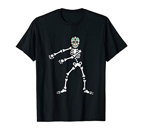 Skeleton Day Of The Dead Halloween Dia de los Muertos Shirt