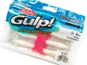 JumpingBolt 1294784 Gulp! Pearl White Pink Shrimp 3
