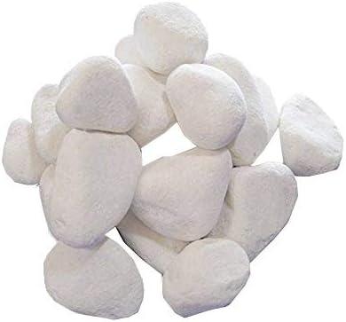 20 piedras /blancas decorativas /para chimeneas gel y etanolChimenea /bionl24/envío gratuito: Amazon.es: Hogar