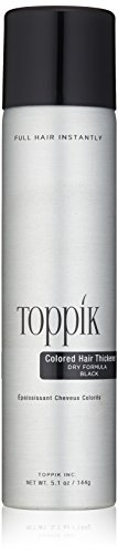 TOPPIK Colored Hair Thickener Black