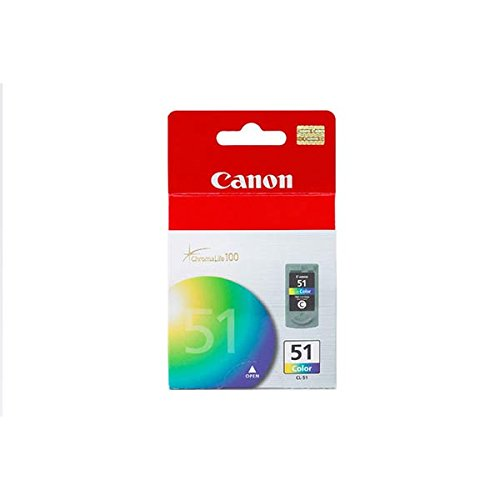 Canon Cl-51 Ip6210d/Ip6220d/Ip6310d/Mp 150/160/170/450/460 High Capacity Color Ink Practical - High Cl Color 51 Capacity