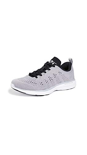 APL: Athletic Propulsion Labs Women's Techloom Pro Sneakers, Cement/Black/White, 6.5 M US