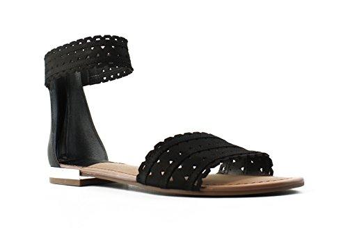 Franco Sarto Women's Ara Black Sandal 8 M