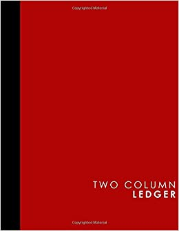 amazon com two column ledger appointment book accounting ledger