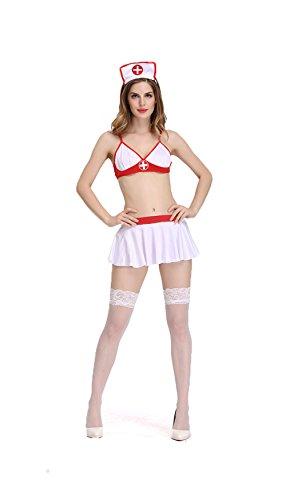 smile Halloween Europe and the United States fashion taste nurses role play uniforms