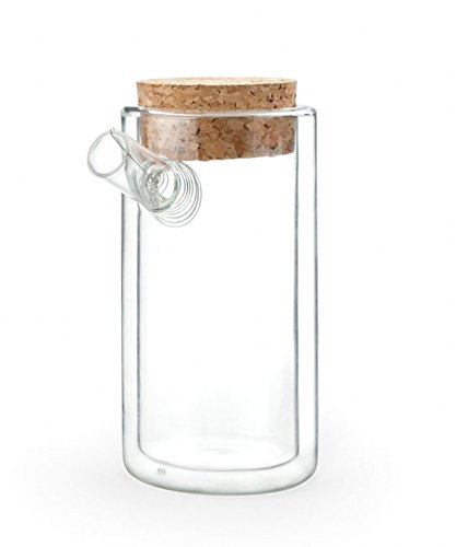 Kikkerland Ora Teapot, Clear