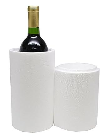1 botella de poliestireno vino Envío refrigeradores refrigeradores de (6) no cajas - r1bc: Amazon.es: Amazon.es