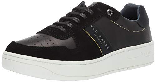 (Ted Baker Men's Maloni Sneaker Black Suede 10 Medium US)