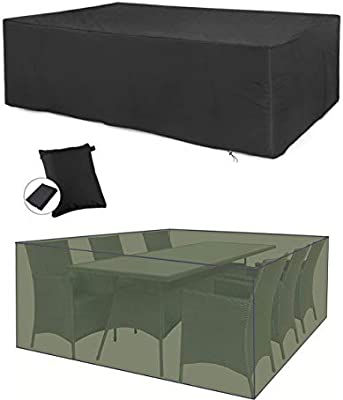 Large Protective Cover Patio Furniture set Garden Patio Furniture Rain Cover