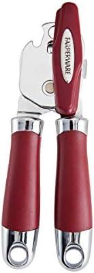 Farberware Abridor de latas Pro 2, vermelho, tamanho único