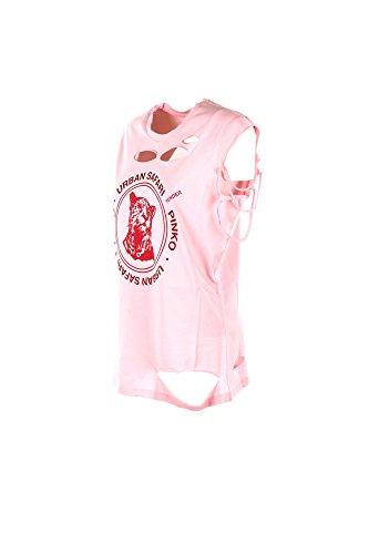 1b138x Girocollo Y4dk Maglia Donna Art Clare Pinko Rosa Cotone Top rosso Canotta x0H8gI