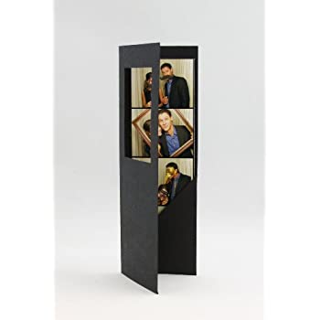 Amazon.com - 50 Black Photo Booth Frame Folders for 2x6 Photo Strips -