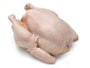 Chicken, Broiler, With Skin, Raw