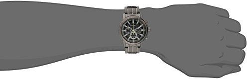 Seiko Men's SSC391 Solar Chrono Analog Display Japanese Quartz Grey Watch