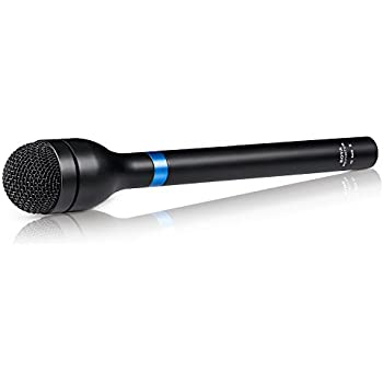 Newest BOYA BY-HM100 Omni-Directional Wired Handheld Dynamic Microphone XLR Long Handle for ENG & Interviews & News Gathering and Report