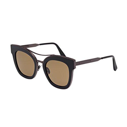 bottega-veneta-bv0012s-geometric-acetate-metal-women-shiny-black-brown003-b-50-23-145