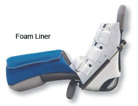 Alimed Multi Podus Phase II System Foam Liner, Pediatric by Alimed