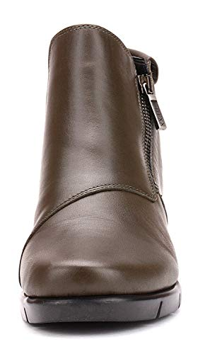 Green The Wedge 09 Mud Flexx Heels Boots Ankle Women B235 Bx18nwB