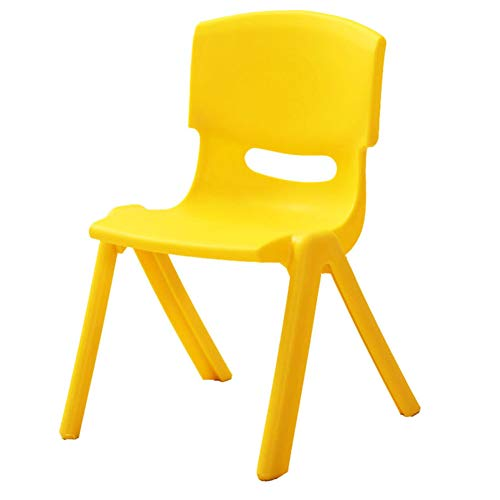 ZH Adjustable Height Kids Table,Toddlers Square Plastic Activity Table, Stacking Backrest Chair, Children