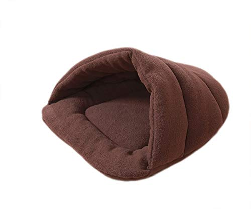 ALLNEO Cat Cave Bed Pet House Bed Indoor Portable Soft Warm Winter Sleeping CushionMat Foldable Room for Small Medium Dog Cat Kittens Puppy Rabbit ()