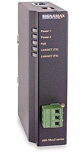 10/100 to 100FX Industrial PoE+ Media Converter 10/100BaseT/TX to 100BaseFX Industrial PoE+ Media Converterc SC/MMc 2 km Span