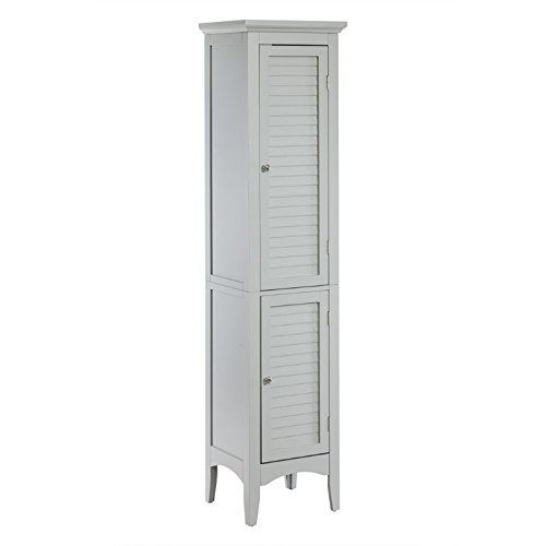 Elegant Home Fashions Linen Tower in Gray ()