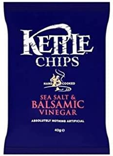 product image for Kettle Chips Sea Salt & Balsamic Vinegar 40G X Case Of 18