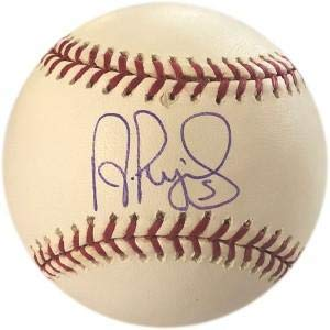 Autographed 2004 World Series Baseball - Albert Pujols Autographed Baseball - 2004 World Series - Autographed Baseballs