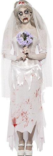 Till Death Do Us Part Zombie Bride Costume Large - Till Death Do Us Part Costume