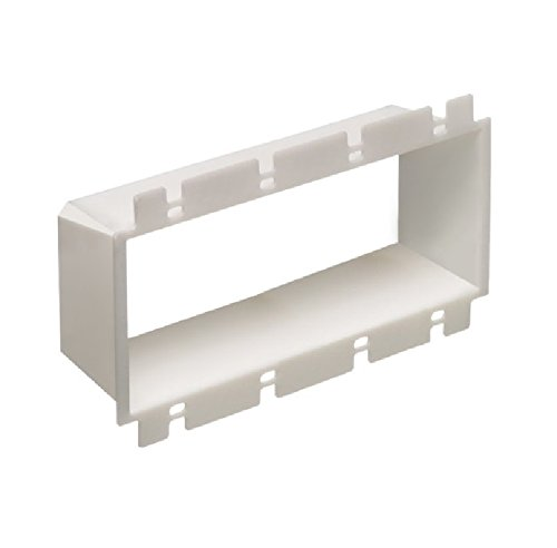 Arlington Industries BE4 Outlet Box Extender, 4-Gang, 10-Pack by Arlington Industries