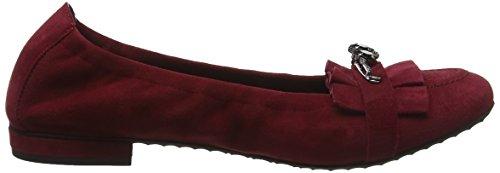 Black Kennel Ballet Schmenger und Malu Red Flats Toe 485 Women's Rubino Closed qTa6wZq
