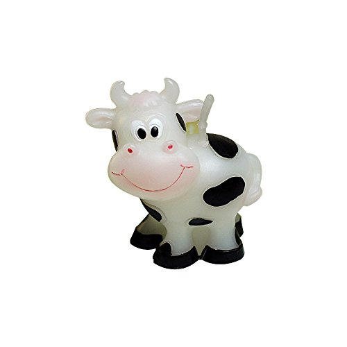 Sweet Homes & Gardens Adorable Cow Candle Baby Birthday Cake Topper Party Decoration from Sweet Homes & Gardens