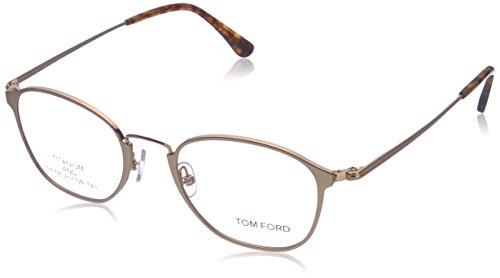 TOM FORD FT 5349 Eyeglasses 028 Shiny Rose - Toms Glasses Reading